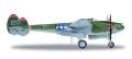 [予約]herpa wings 1/72 P-38L アメリカ陸軍航空軍 V.E. Jett, 431st FS 475FG