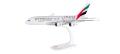 "herpa wings 1/250 A380 エミレーツ航空 ""Real Madrid"" A6-EOA ※プラスチック製、スナップフィット"