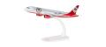 "herpa wings 1/200 A320 エアベルリン ""Fan Force One"" D-ABFK ※プラスチック製、スナップフィット"