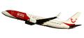 herpa wings 1/200 737-800 TUIfly航空 RIU Hotels D-ATUZ ※プラスチック製、スナップフィット
