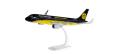 "herpa wings 1/100 A320 ユーロウイングス ""BVB Mannschaftsairbus""D-AIZR ※プラスチック製、スナップフィット"