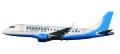 [予約]herpa wings 1/100 E170 People´s Viennaline航空 OE-LMK ※プラスチック製、スナップフィット