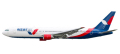 [予約]herpa wings 1/200 767-300 Azur航空 D-AZUB ※プラスチック製、スナップフィット