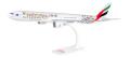 """herpa wings 1/200 777-300ER エミレーツ航空 """"Hamburger SV"""" A6-EPS ※プラスチック製、スナップフィット"""
