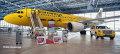 """[予約]herpa wings 1/200 A320 ユーロウイングス """"Hertz 100 Jahre"""" D-ABDU ※プラスチック製、スナップフィット"""