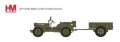 """[予約]ホビーマスター 1/72 ウィリスMBジープ&トレーラー """"イギリス第6空挺師団"""""""