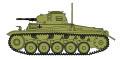 """[予約]ホビーマスター 1/72 ドイツ軍II号戦車F型 """"チュニジア 1943"""""""