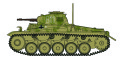 """[予約]ホビーマスター 1/72 ドイツ軍II号戦車F型 """"シタデル 1943"""""""