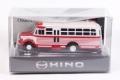 日野自動車 特注モデル(パパジーノ製) 日野 BH10型 ボンネットバス プルバック レッド