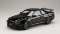 ホビージャパン 1/18 日産 スカイライン GT-R V・スペック 1999 (BNR34) ブラックパール