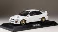 [予約]ホビージャパン 1/18 スバルインプレッサ WRX type R STi  Version IV (GC8) 1997 フェザーホワイト