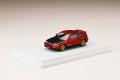 [予約]ホビージャパン 1/64 ホンダ CR-X SiR (EF8) / カスタムバージョン + カーボンボンネット レッドパール(生産予定数 800個)