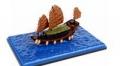 TINY(タイニー) 1/360 香港 帆船 (船室屋根ブラウン)