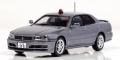 RAI'S (レイズ) 宮沢模型限定 1/43 日産 スカイライン 25GT-X (ER34) 2000 警視庁刑事部機動捜査隊車両 シルバー  *800pcs