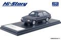 [予約]Hi-Story(ハイストーリー) 1/43 マツダ ファミリア TURBO 1500 XG (1983) スパークリングブラックメタリック