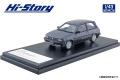 [予約]Hi-Story(ハイストーリー) 1/43 トヨタ スターレット Si-Limited (1984) ダークグレーメタリック