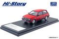 [予約]Hi-Story(ハイストーリー) 1/43 トヨタ スターレット Si-Limited (1984) レッド