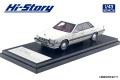 Hi-Story(ハイストーリー) 1/43 日産 ローレル 4DOOR HARDTOP V20 TURBO MEDALIST (1984) ホワイト