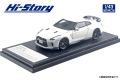 Hi-Story(ハイストーリー) 1/43 日産 GT-R アンバサダー就任記念モデル (2019) ブリリアントホワイトパール