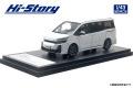 [予約]Hi-Story(ハイストーリー) 1/43 トヨタ VOXY ZS GR SPORTS (2019) ホワイトパールクリスタルシャイン