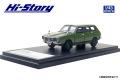 Hi-Story(ハイストーリー) 1/43 スバル レオーネ ESTATE VAN 4WD (1972) ビレッジグリーン