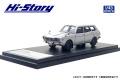 Hi-Story(ハイストーリー) 1/43 スバル レオーネ ESTATE VAN 4WD (1972) シルバー (カスタマイズ色)