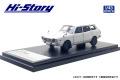 [予約]Hi-Story(ハイストーリー) 1/43 スバル レオーネ ESTATE VAN 4WD (1972) ホワイト (カスタマイズ色)