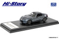 Hi-Story(ハイストーリー) 1/43 マツダ ロードスター RF RS (2020) ポリメタルグレーメタリック
