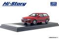 [予約]Hi-Story(ハイストーリー) 1/43 三菱 ミラージュ CYBORG DOHC 16V-T (1987) カリフォルニアレッド