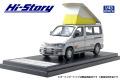 [予約]Hi-Story(ハイストーリー) 1/43 マツダ ボンゴフレンディ RF-V (1995) シルバーストンメタリック&サイレントシルバーメタリック
