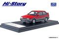 [予約]Hi-Story(ハイストーリー) 1/43 MAZDA FAMILIA FULL TIME 4WD GT-X (1985) ピュアレッド/ラスターシルバーM