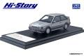 Hi-Story(ハイストーリー) 1/43 MAZDA FAMILIA FULL TIME 4WD GT-X (1985) サンビームシルバーM/ラスターシルバーM