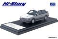 Hi-Story(ハイストーリー) 1/43 MAZDA FAMILIA FULL TIME 4WD GT-X (1985) ドーバーホワイト/ラスターシルバーM