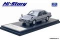 [予約]Hi-Story(ハイストーリー) 1/43 MAZDA CAPELLA SEDAN 2000 GT-X (1982) トロネードシルバーM