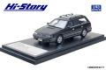 [予約]Hi-Story(ハイストーリー) 1/43 SUBARU LEGACY Touring Wagon GT (1989) ブラックマイカミディアムグレー/・メタリック