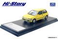 [予約]Hi-Story(ハイストーリー) 1/43 Honda CITY CR-i (1988) ペアイエロー