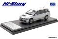 Hi-Story(ハイストーリー) 1/43 三菱 ランサー エボリューション ワゴン GT-A (2005) クールシルバーメタリック