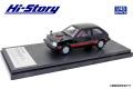 [予約]Hi-Story(ハイストーリー) 1/43 MITSUBISHI MIRAGE II 1400 TURBO (1982) セルビアブラック