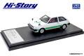 [予約]Hi-Story(ハイストーリー) 1/43 MITSUBISHI MIRAGE II 1400 TURBO (1982) ポーラホワイト