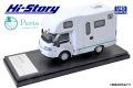 [予約]Hi-Story(ハイストーリー) 1/43 AtoZ AMITY Porto キャンピングカー (マツダ ボンゴトラック 2019) ブルーライン