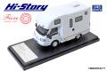 Hi-Story(ハイストーリー) 1/43 AtoZ AMITY Porto キャンピングカー (マツダ ボンゴトラック 2019) レッドライン