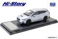 Hi-Story(ハイストーリー) 1/43 SUBARU LEVORG STI Sport (2020) STIスポーツパーツ アイスシルバー・メタリック