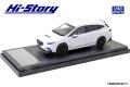 Hi-Story(ハイストーリー) 1/43 SUBARU LEVORG STI Sport (2020) STIスポーツパーツ クリスタルホワイト・パール