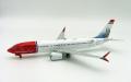 [予約]InFlight Model 1/200 737-8 Max ノルウェージャンエアシャトル EI-FYD With Stand
