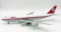 InFlight Model 1/200 747-200 ミドルイースト航空 OD-AGH Polished With Stand