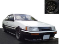 ignition model(イグニッションモデル) 1/18 トヨタ Corolla Levin 2Door GT Apex (AE86) White/Black ★生産予定数:200pcs