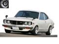 ignition model(イグニッションモデル) 1/43 マツダ Savanna (S124A) White ※Hayashi-Wheel ★生産予定数:180pcs