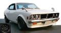 ignition model(イグニッションモデル) 1/43 三菱 Colt Galant GTO 2000GSR (A57) White ★生産予定数:180pcs