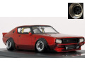 ignition model(イグニッションモデル) 1/43 LB-WORKS Kenmary 2Door Red Metallic ★生産予定数:140pcs