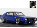 ignition model(イグニッションモデル) 1/43 LB-WORKS Kenmary 2Door Blue Metallic ★生産予定数:140pcs
